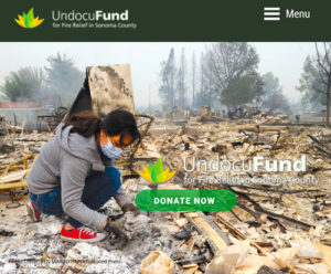 Undocufund web site